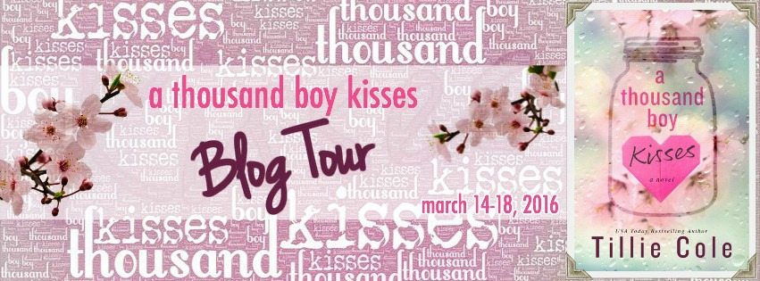 a thousand boy kisses blog tour banner