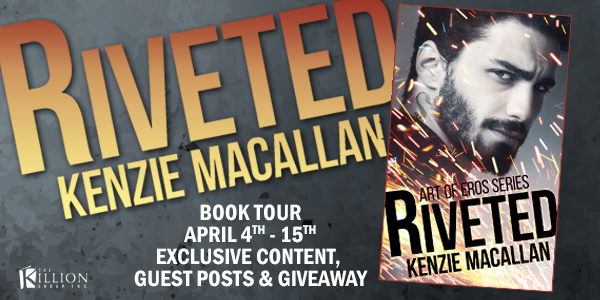 Riveted (Art of Eros #1) by Kenzie Macallan