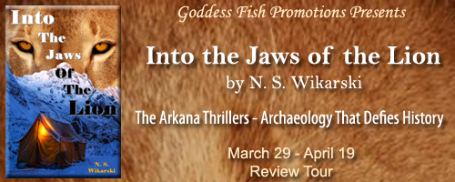 Into The Jaws Of The Lion (Arkana Mysteries #5) by N. S. Wikarski