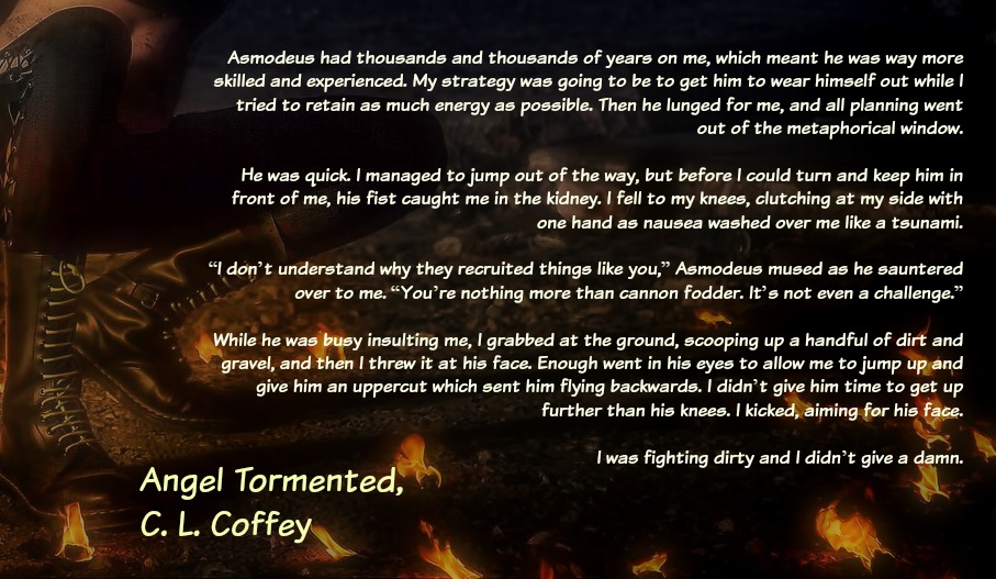 fighting dirty - Angel Tormented