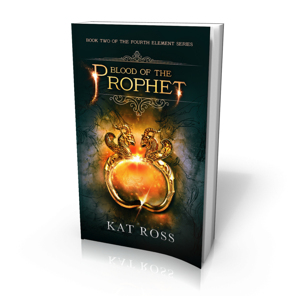 Blood of the Prophet (The Fourth Element, #2) by Kat Ross Cover Reveal
