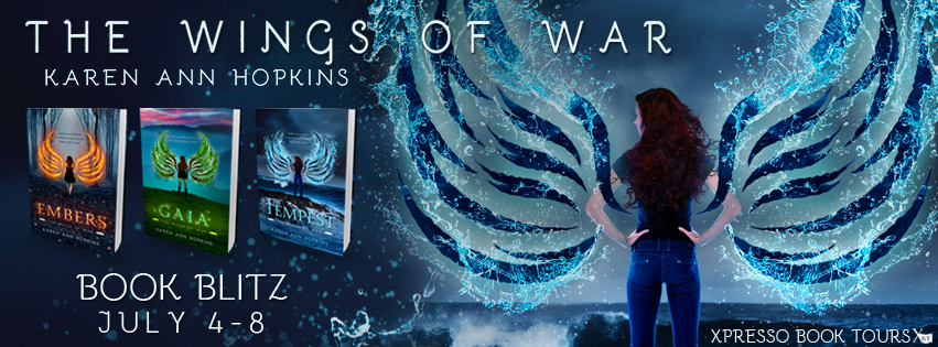 Wings of War Series by Karen Ann Hopkins