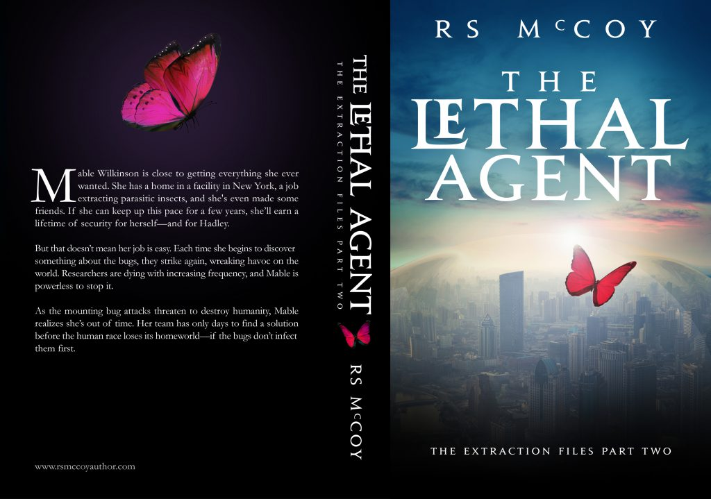 The Lethal Agent (The Extraction Files #2) by R.S. McCoy Cover Reveal