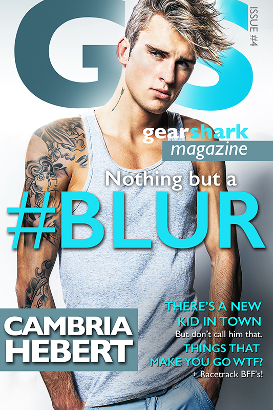 #Blur (GearShark #4) by Cambria Hebert Cover Reveal