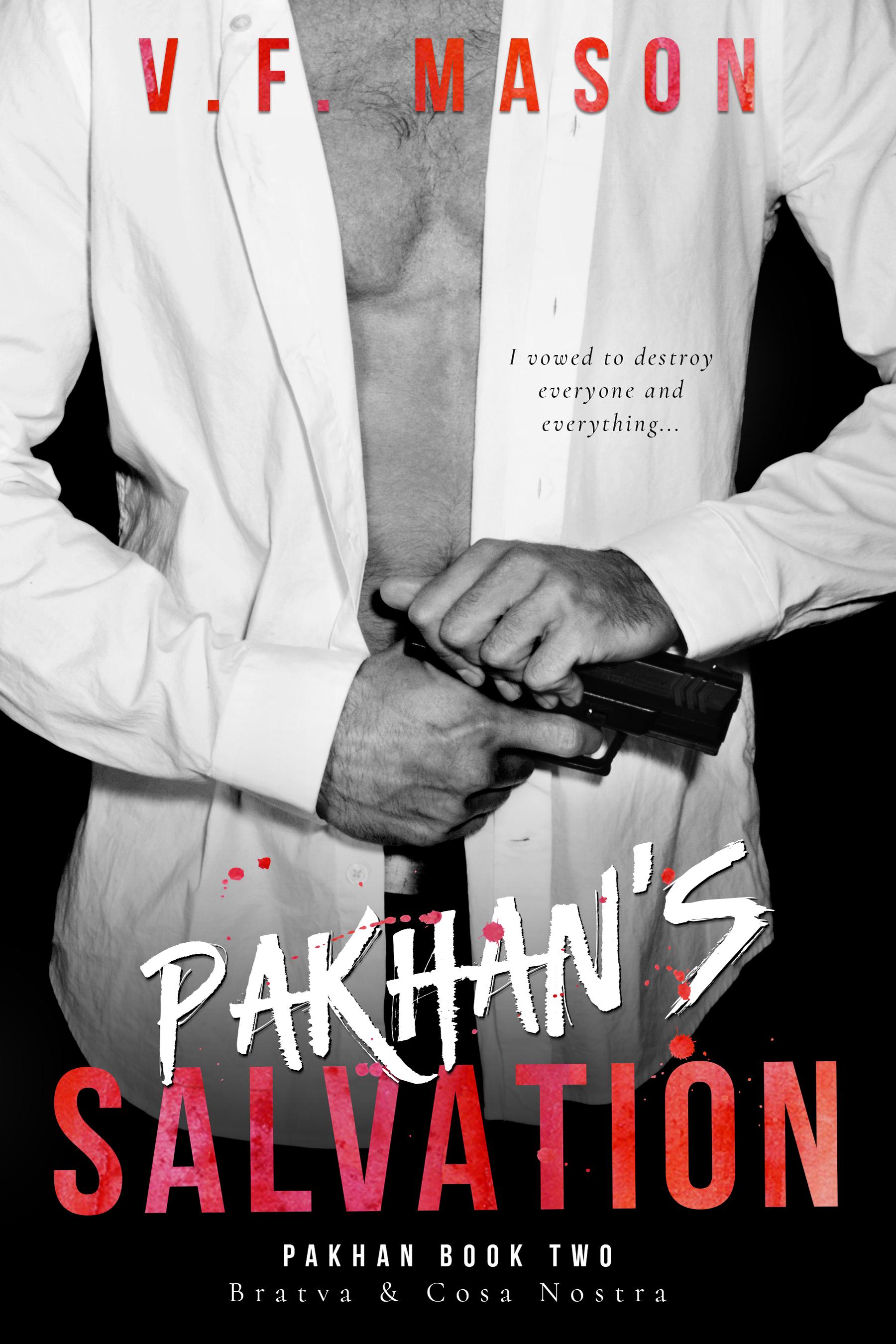 Pakhan's Salvation (Pakhan Duet #2) by V F  Mason – Am Kinda