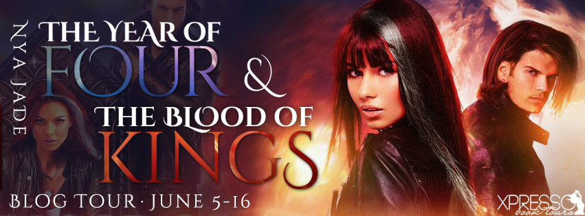 The Year of Four and The Blood of Kings (Phoebe Pope #1 and #2) by Nya Jade