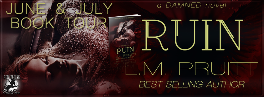 Ruin (A DAMNED Novel #3) by L.M. Pruitt