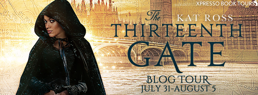 The Thirteenth Gate (Dominion Mysteries #2) by Kat Ross