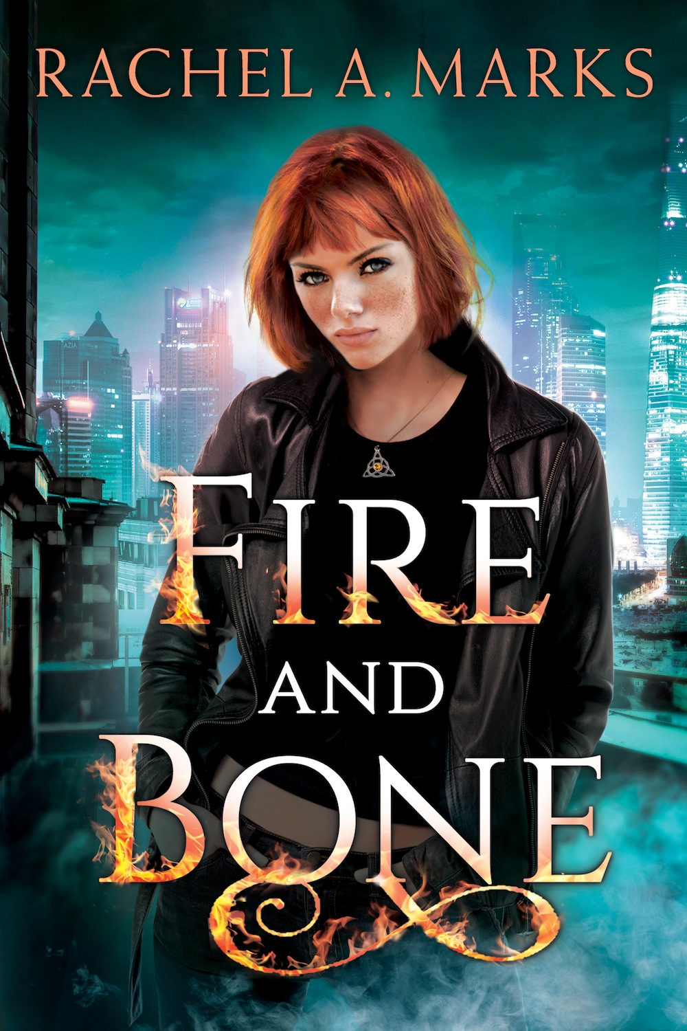 Fire and Bone (Otherborn #1) by Rachel A. Marks Cover Reveal
