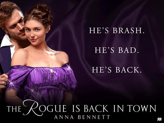 The Rogue Is Back in Town (Wayward Wallflowers #3) by Anna Bennett