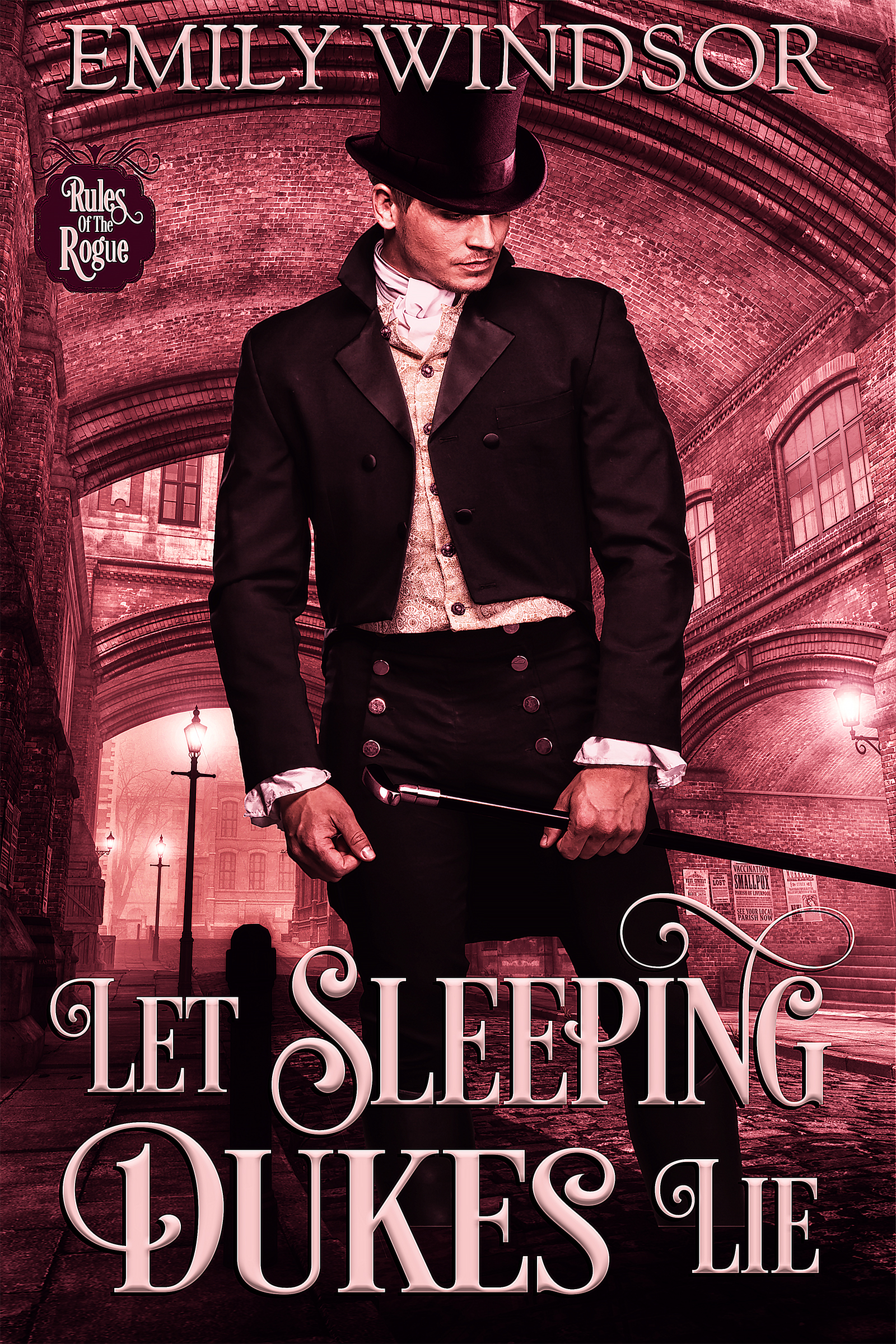 Let Sleeping Dukes Lie (Rules of the Rogue #3) by Emily Windsor