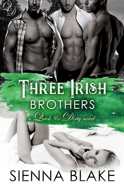Three Irish Brothers by Sienna Blake
