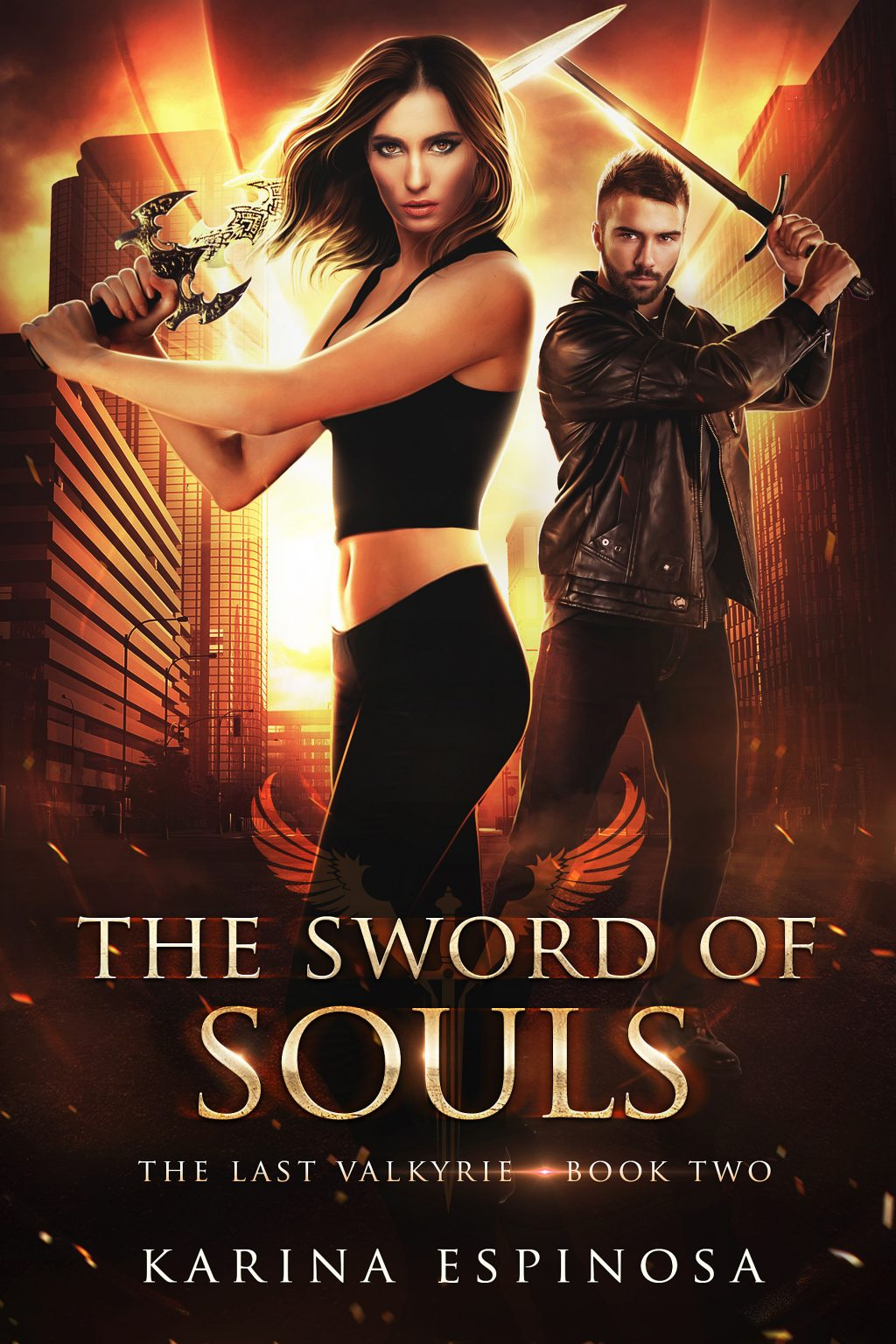 The Sword of Souls (The Last Valkyrie #2) by Karina Espinosa