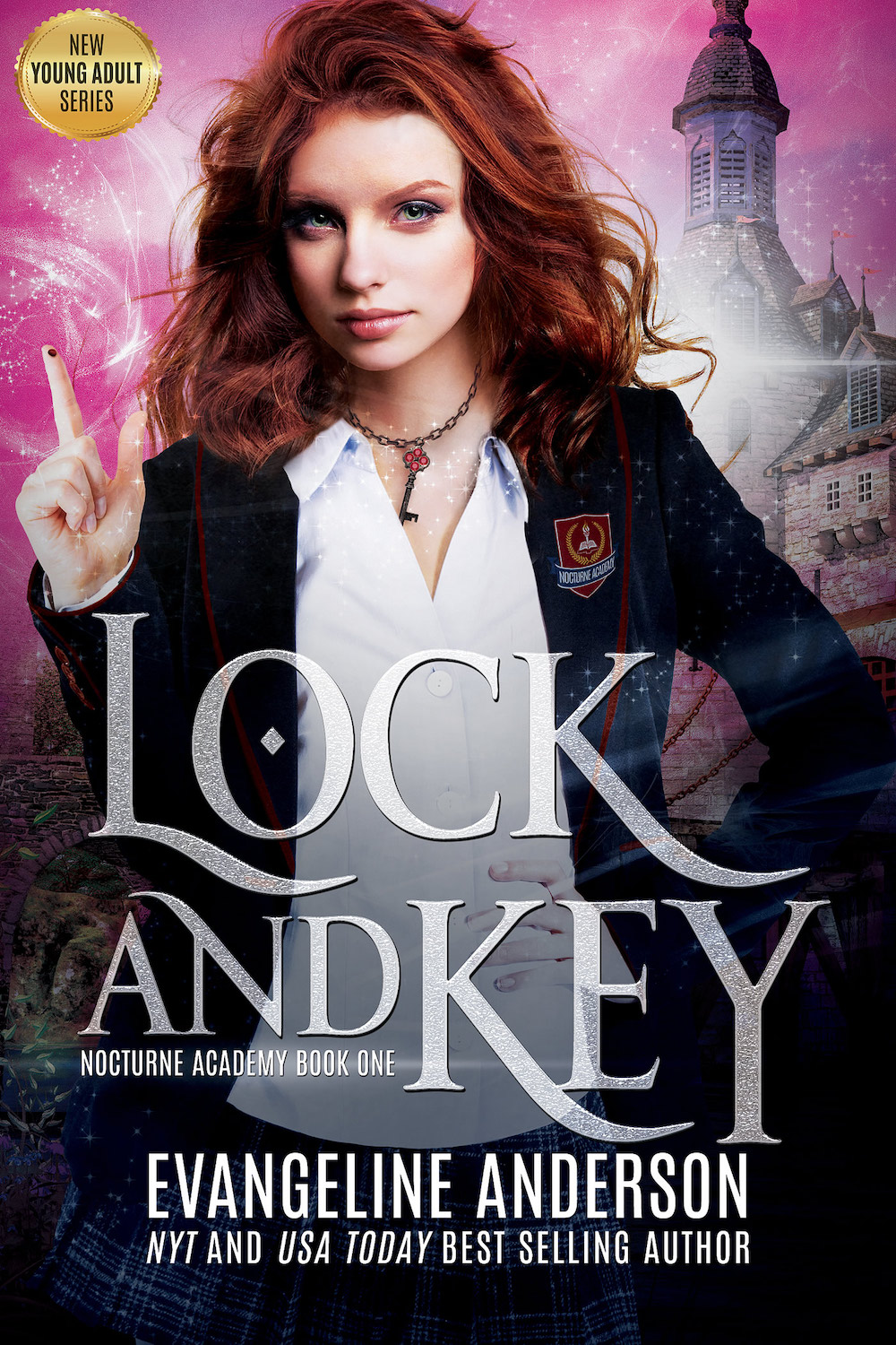Lock and Key (Nocturne Academy #1) by Evangeline Anderson