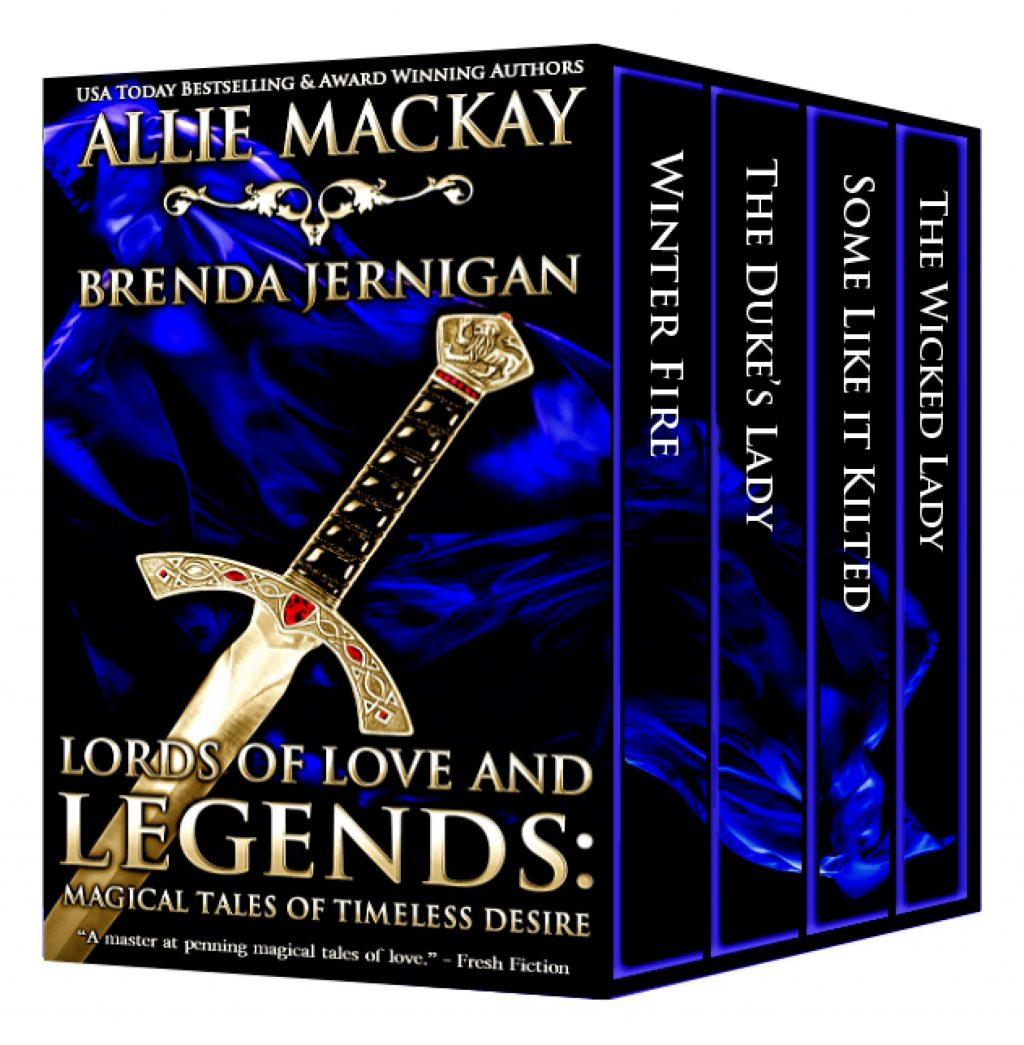 Lords of Love and Legends by Allie Mackay, Brenda Jernigan, Sue-Ellen Welfonder