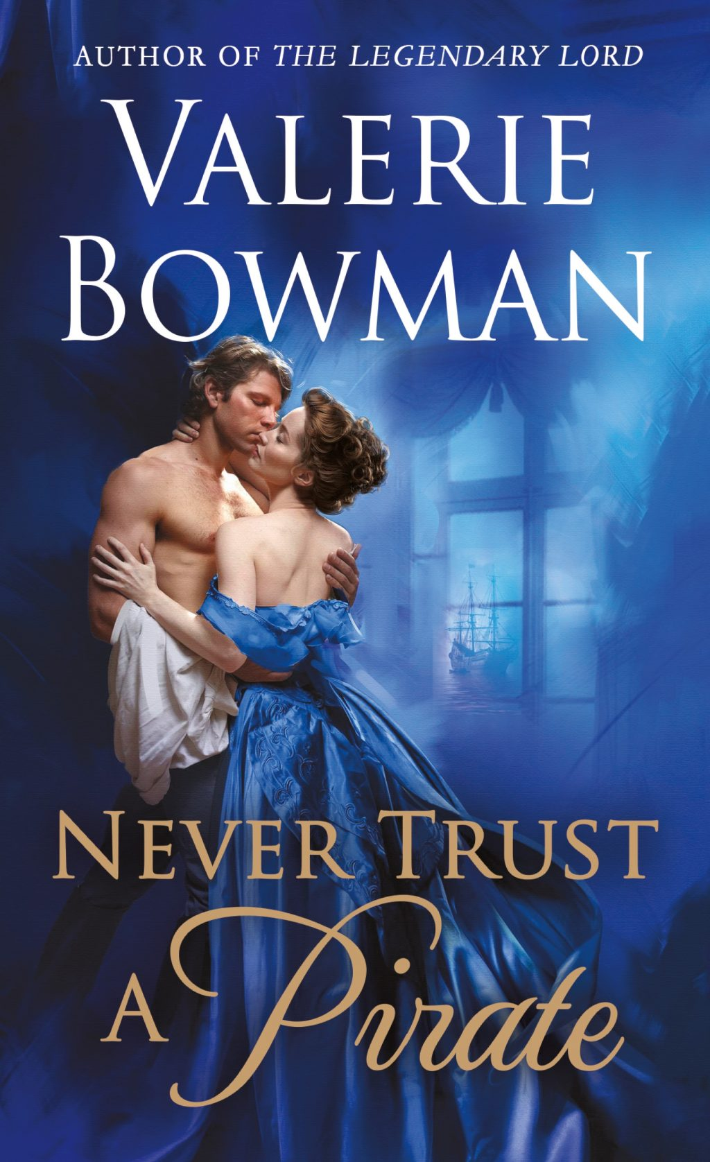 Never Trust a Pirate (Playful Brides #7) by Valerie Bowman
