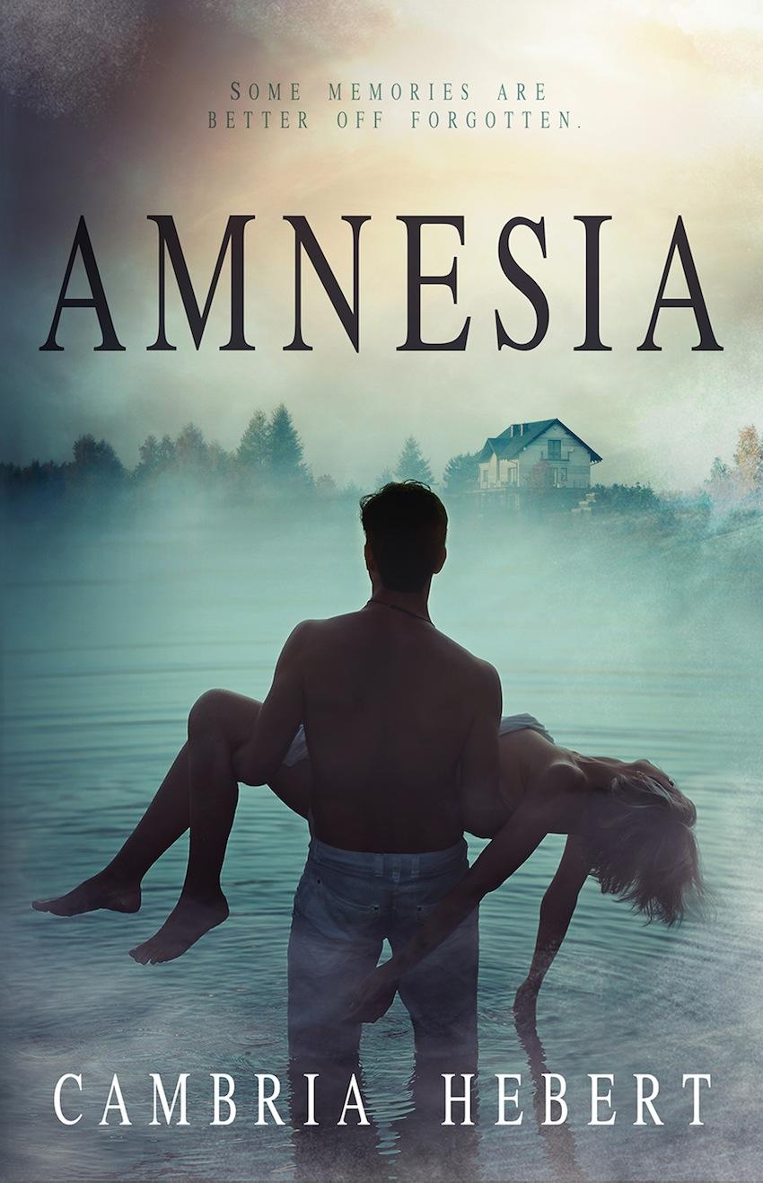 Amnesia by Cambria Hebert Cover Reveal