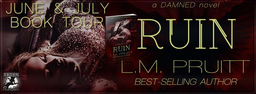 Ruin (A DAMNED Novel #3) by L.M. Pruitt